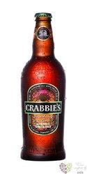 "Crabbies ginger beer "" Strawberry & Lime "" of United Kingdom 4% vol.   0.33 l"