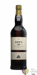 Dow´s port wine tawny 20 years old Porto Doc by Symington Family 20% vol.    0.75 l