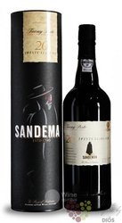 Sandeman 20 years old wood aged tawny Porto Doc 20% vol.  0.75 l