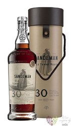 Sandeman 30 years old wood aged tawny Porto Doc 20% vol.  0.75 l