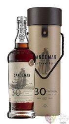Sandeman 30 years old wood aged tawny Porto Doc 20% vol.  0.75 l