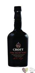 """Croft """" fine Ruby """" Porto Doc 20% vol.    0.75 l"""