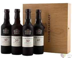 "Taylor´s "" Century of Port "" collection of wood aged tawny Porto Doc 20% vol.  4x0.75l"