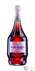 "Royal Oporto "" Pink "" Porto Doc by Real Compania Velha 19% vol.   0.75 l"