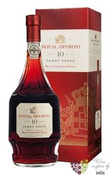 "Royal Oporto 10 years old "" Aged tawny "" Porto DO by Real Compania Velha 20% vol.   0.75 l"