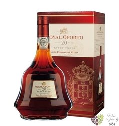 "Royal Oporto 20 years old "" Aged tawny "" Porto Do by Real Compania Velha 20% vol.   0.75 l"