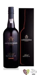 "J.H.Andresen Special reserve "" Ruby "" Porto Do 20% vol.    0.75 l"