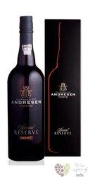"J.H.Andresen Special reserve "" Tawny "" Porto Do 20% vol.    0.75 l"