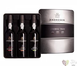 "J.H.Andresen "" Reserve Trio "" Porto Do 20% vol.  3x0.375 l"
