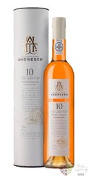 "J.H.Andresen "" Reserve white "" aged 10 years Porto Do 20% vol.  0.50 l"