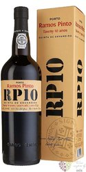 "Ramos Pinto "" Quinta Ervamoira "" 10 years old wood aged Tawny Porto Doc 20% vol.    0.75 l"
