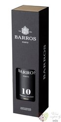 Barros 10 years old wood aged tawny Porto Do 20% vol.     0.75 l