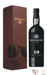 Barros 10 years old gift box wood aged tawny Porto Do 20% vol.     0.75 l