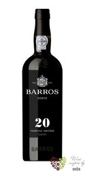 Barros 20 years old wood aged tawny Porto Do 20% vol.   0.75 l