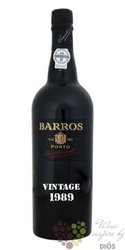 "Barros 1989 "" Declared Vintage "" Porto Doc 20% vol.  0.75 l"
