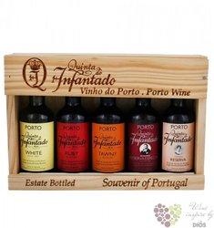 """Quinta do Infantado port wine """" Collection od quinta """" Porto Do 20% vol.    5 x0.05 l"""