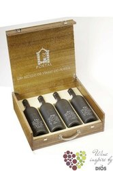 "Collection of aged tawny port wine "" 10&20&30&40 years old "" bz Quinta do Portal     4 x"