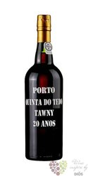 Quinta do Tedo port wine 20 years old wood aged tawny Porto Doc 20% vol.    0.75 l