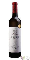 Rulandské šedé 2016 pozdní sběr z vinařství Prchal 0.75l