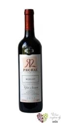 Merlot 2014 výběr z hroznů z vinařství Prchal  0.75 l
