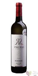 Kerner 2018 pozdní sběr z vinařství Prchal 0.75l