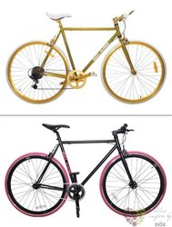 Belaire bicykl gold/pink