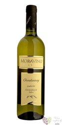 Chardonnay 2018 pozdní sběr vinařství Moravíno Valtice  0.75 l