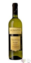 """Chardonnay """" Barrique """" 2017 pozdní sběr Moravíno Valtice  0.75 l"""