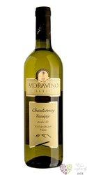 """Chardonnay """" Barrique """" 2018 pozdní sběr Moravíno Valtice  0.75 l"""