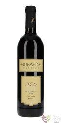 Merlot 2014 posdní sběr z vinařství Moravíno Valtice  0.75 l