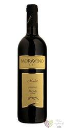 Merlot 2016 pozdní sběr z vinařství Moravíno Valtice  0.75 l