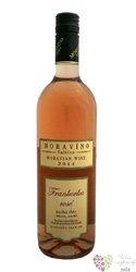 Frankovka rosé 2011 pozdní sběr z vinařství Moravíno Valtice    0.75 l