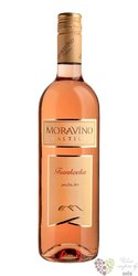 Frankovka rosé 2017 pozdní sběr z vinařství Moravíno Valtice    0.75 l