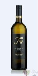 """Sauvignon blanc """" Grassnitzberg """" 2013 erste STK lage Sudsteiermark weingut Tement    0.75 l"""