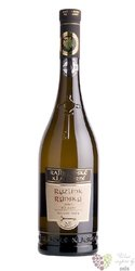 """Ryzlink rýnský"""" Exclusive """" 2014 pozdní sběr z vinařství Rajhradské klášterní 0.75 l"""