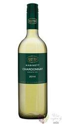 "Chardonnay "" Kabinett "" 2014 kabinet z vinařství Reisten     0.75 l"