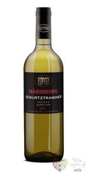 "Gewurztraminer "" Maidenburg "" 2012 výběr z hroznů z vinařství Reisten    0.75"