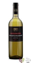 """Gewurztraminer """" Maidenburg """" 2016 pozdní sběr Reisten  0.75 l"""