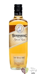 "Bundaberg "" Spiced "" flavored Australian cane spirit 37% vol.     0.70 l"