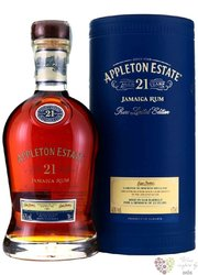 "Appleton Estate "" Rare ltd. edition "" aged 21 years Jamaican rum 43% vol.   0.70 l"