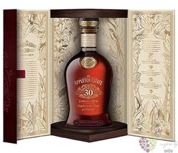 Appleton Estate aged 30 years Jamaican rum 45% vol.  0.70 l