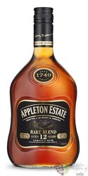 "Appleton Estate "" Rare blend "" aged 12 years Jamaican rum 43% vol.   1.00 l"