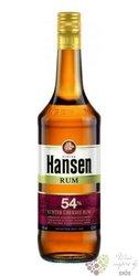 "Hansen "" Red "" stronger Caribbean rum 54% vol.    0.70 l"