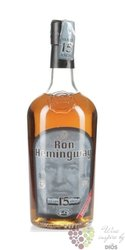Hemingway 12 years old original Culumbian rum 40% vol.   0.70 l