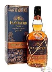"Plantation "" Gran aňejo Guatemala & Belize "" aged Caribbean rum 42% vol.  0.70 l"