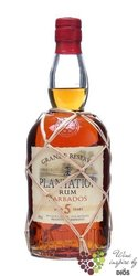 "Plantation "" Grande reserve "" aged 5 years rum of Barbados 40% vol.    0.70 l"