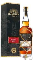 """Plantation Single cask 2000 """" Clarendon MBK """" aged Jamajcan rum 51.6% vol.  0.70 l"""