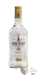 "Siboney "" Blanco selecto "" rum of Dominican republic 37.5% vol.  1.00 l"