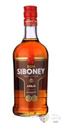 "Siboney "" Aňejo "" aged rum of Dominican republic 37.5% vol.  0.70 l"