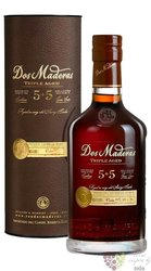 """Dos Maderas """" PX 5 + 5 """" gift tube Caribbean rum by Williams & Humbert 40% vol.0.70 l"""